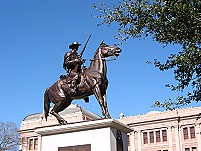 Image of Terry's Texas Rangers monument