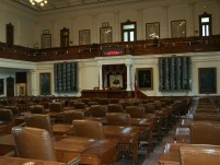 Image of Texas House of Representatives chamber.